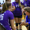 Western HS hosting Northwestern HS Volleyball on Sept. 25, 2018.<br /> Tim Bath | Kokomo Tribune