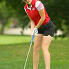 9-12-18<br /> Eastern vs Maconaquah girls golf<br /> Mac 1 Brianna Smitley<br /> Kelly Lafferty Gerber | Kokomo Tribune