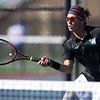 Sectional Tennis singles #1 WHS's Jacob Jansen on Sept. 25, 2018.<br /> Tim Bath   Kokomo Tribune