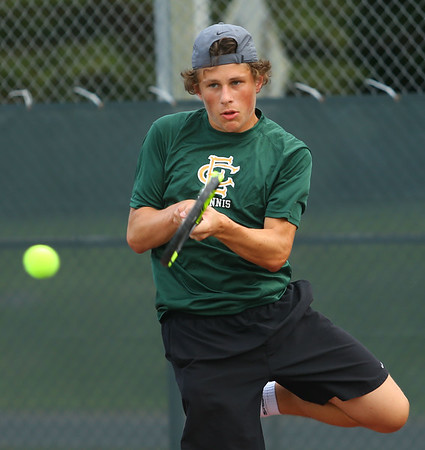 9-18-18 Eastern boys tennis 1 singles Matt Harrison Kelly Lafferty Gerber | Kokomo Tribune