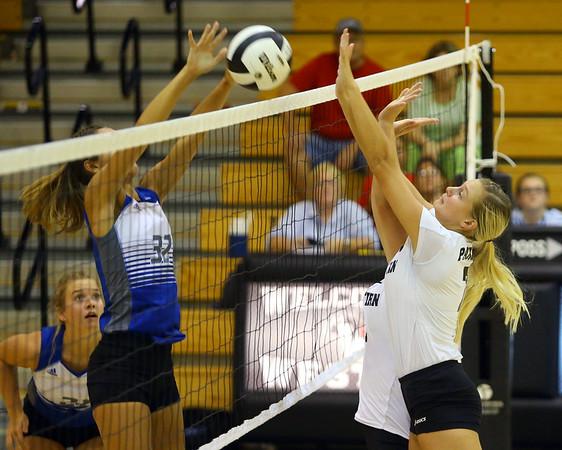 9-5-18<br /> Western vs Tipton volleyball<br /> <br /> Kelly Lafferty Gerber   Kokomo Tribune