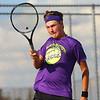 9-4-18<br /> Western vs Northwestern boys tennis<br /> NW 1 doubles Addison Horner.<br /> Kelly Lafferty Gerber | Kokomo Tribune
