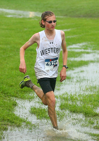 9-8-18<br /> Cross Country at Mac<br /> Western's Joseph Packard<br /> Kelly Lafferty Gerber | Kokomo Tribune