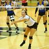 9-5-18<br /> Western vs Tipton volleyball<br /> <br /> Kelly Lafferty Gerber | Kokomo Tribune