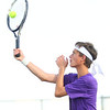 9-4-18<br /> Western vs Northwestern boys tennis<br /> NW 2 singles Adam Morrow.<br /> Kelly Lafferty Gerber | Kokomo Tribune