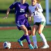 Soccer action between Northwestern HS and Eastern HS girls on Sept. 27, 2018. <br /> Tim Bath | Kokomo Tribune