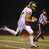 9-7-18<br /> Eastern vs Taylor football<br /> Eastern's Eli Elkins heads to the endzone for a touchdown after catching a pass.<br /> Kelly Lafferty Gerber | Kokomo Tribune