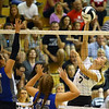 9-5-18<br /> Western vs Tipton volleyball<br /> Hannah Merica goes for a kill.<br /> Kelly Lafferty Gerber | Kokomo Tribune
