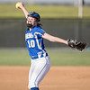 McKenzie Carroll opens up pitching for the Blazers