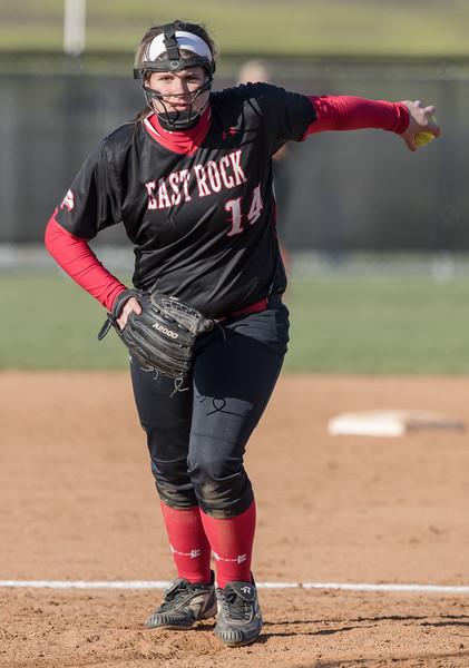 Samantha Hensley pitches