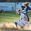 Taylor Carpenter slide in to second base beating the play