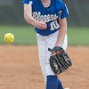 McKenzie Carroll pitches