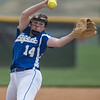 Kirsten Fletcher opens up pitching for the Blazers