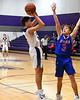 Mount Vernon Varsity Tigers vs Prairiland Patroits Basketball game photos