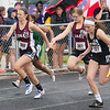Luray Girls compete in the 4x100 relay