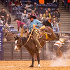 WRCA World Championship Ranch Rodeo 2018 Thursday's go-around. Ty Swiler from Beachner Brothers Livestock. Scores a 78 in the Ranch Bronc Riding. Shaie Williams