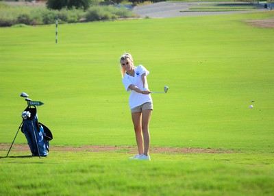 2018 girls golf Marana Mountain View