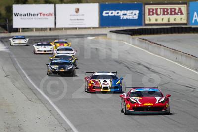 Ferrari Challenge May 4-6, WeatherTech Raceway Laguna Seca by Bob Heathcote