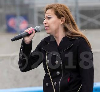 anthem singer