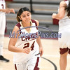 1/13/2018 Mike Orazzi | Staff<br /> New Britain's Savannah Gonzalez (24) during Saturday's girls basketball game with Medgar Evers College Preparatory School in New Britain.