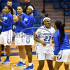 12/9/2017 Mike Orazzi | Staff<br /> CCSU's Brianna Jacobs (23) during Saturday's women's basketball game with Yale University in New Britain.
