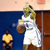 12/9/2017 Mike Orazzi | Staff<br /> CCSU's Kiana Patterson (4) during Saturday's women's basketball game with Yale University in New Britain.