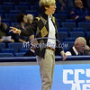 12/9/2017 Mike Orazzi | Staff<br /> Yale University head coach Allison Guth during women's hoops in New Britain.