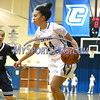 12/9/2017 Mike Orazzi | Staff<br /> CCSU's Ashley Forker (14) and Yale University's Mary Ann Santucci (14) during women's hoops in New Britain.