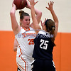 12/12/2017 Mike Orazzi | Staff<br /> Terryville's Lauren Jacobs (25) during Tuesday night's girl's basketball game with Shepaug.