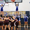 1/18/2018 Mike Orazzi | Staff<br /> The start of the Bristol Central vs Bristol Eastern girls basketball game at BEHS Thursday night.