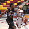1/13/2018 Mike Orazzi | Staff<br /> New Britain's Maya Slisz (3) during Saturday's girls basketball game with Medgar Evers College Preparatory School in New Britain.