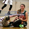 1/16/2018 Mike Orazzi   Staff<br /> Bristol Central Girls Basketball's Sarah Guerin (22) and Maloney's Alexa Papallo (15) during Tuesday night's game in Bristol.