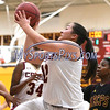 1/13/2018 Mike Orazzi | Staff<br /> New Britain's Gabby Roy (42) during Saturday's girls basketball game with Medgar Evers College Preparatory School in New Britain.