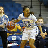 12/9/2017 Mike Orazzi | Staff<br /> CCSU's Ashley Chin (22) during women's hoops in New Britain.