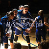 12/14/2017 Mike Orazzi | Staff<br /> Bristol Eastern player introductions during Thursday night's girls basketball game with Plainville.