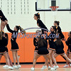 12/12/2017 Mike Orazzi | Staff<br /> Terryville High School Cheerleaders during Tuesday night's girl's basketball game with Shepaug.