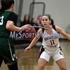 1/16/2018 Mike Orazzi   Staff<br /> Bristol Central Girls Basketball's Ashley Macdonald (11) during Tuesday night's game with Maloney in Bristol.