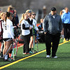 4/11/2018 Mike Orazzi | Staff<br /> Bristol Co-op lacrosse's coach Kyle Phelan at Bristol Central Wednesday.
