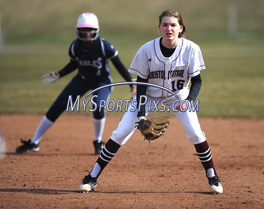 4/11/2018 Mike Orazzi | Staff Bristol Central's Kayla St. Onge (16) against Wethersfield in Bristol.