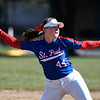 4/20/2018 Mike Orazzi | Staff<br /> St. Paul's Abby Poirot (44)  Friday.
