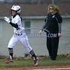 4/11/2018 Mike Orazzi   Staff<br /> Bristol Central's Kayla Beaulieu (14) after a home run Wednesday against Wethersfield in Bristol