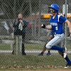 4/13/2018 Mike Orazzi | Staff<br /> Bristol Eastern's Zoe Lowe (8) during Friday's softball with Enfield in Bristol.