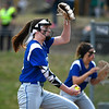 4/13/2018 Mike Orazzi   Staff<br /> Bristol Eastern's Erin Girard (13) during Friday's softball with Enfield in Bristol.