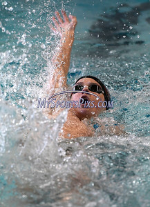 1/30/2018 Mike Orazzi | Staff Bristol's Colton Litwinczyk during Tuesday's swim meet with Berlin in Bristol.