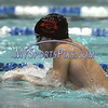 1/12/2018 Mike Orazzi   Staff<br /> Bristol swimming's Colton Litwinczyk during Friday's swim meet with Southington.