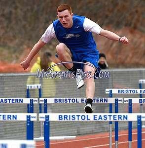 4/17/2018 Mike Orazzi | Staff Plainville's Sam Lestini at Bristol Eastern Tuesday.