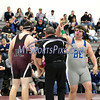 2/8/2018 Mike Orazzi | Staff<br /> Bristol Eastern's Andrew Cercone and Bristol Central's John Duncan in the 285 match at BC Thursday night.