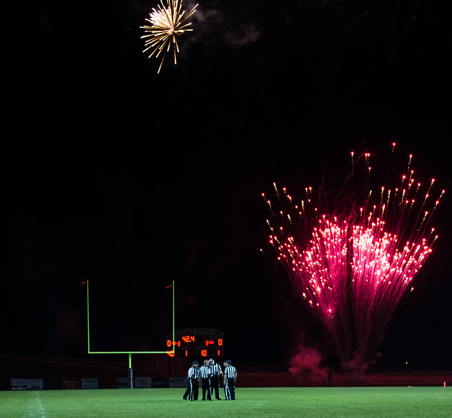 Pregame fireworks