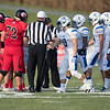 Team Captians meet at center field