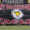 The Eagles prepare to take the field